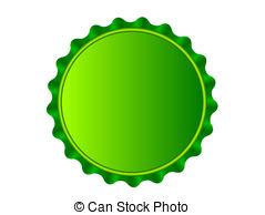 Bottlecap - Illustration of the bottlecap isolated over.