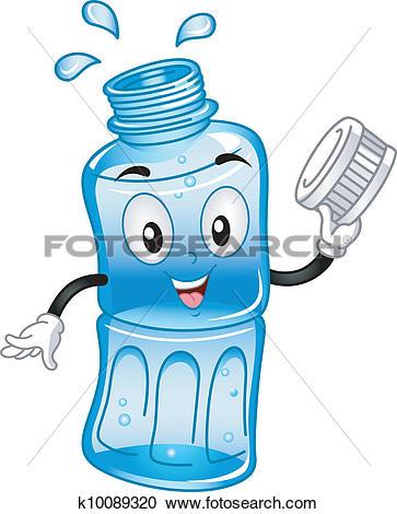 Bottled Water Mascot-Bottled Water Mascot-4