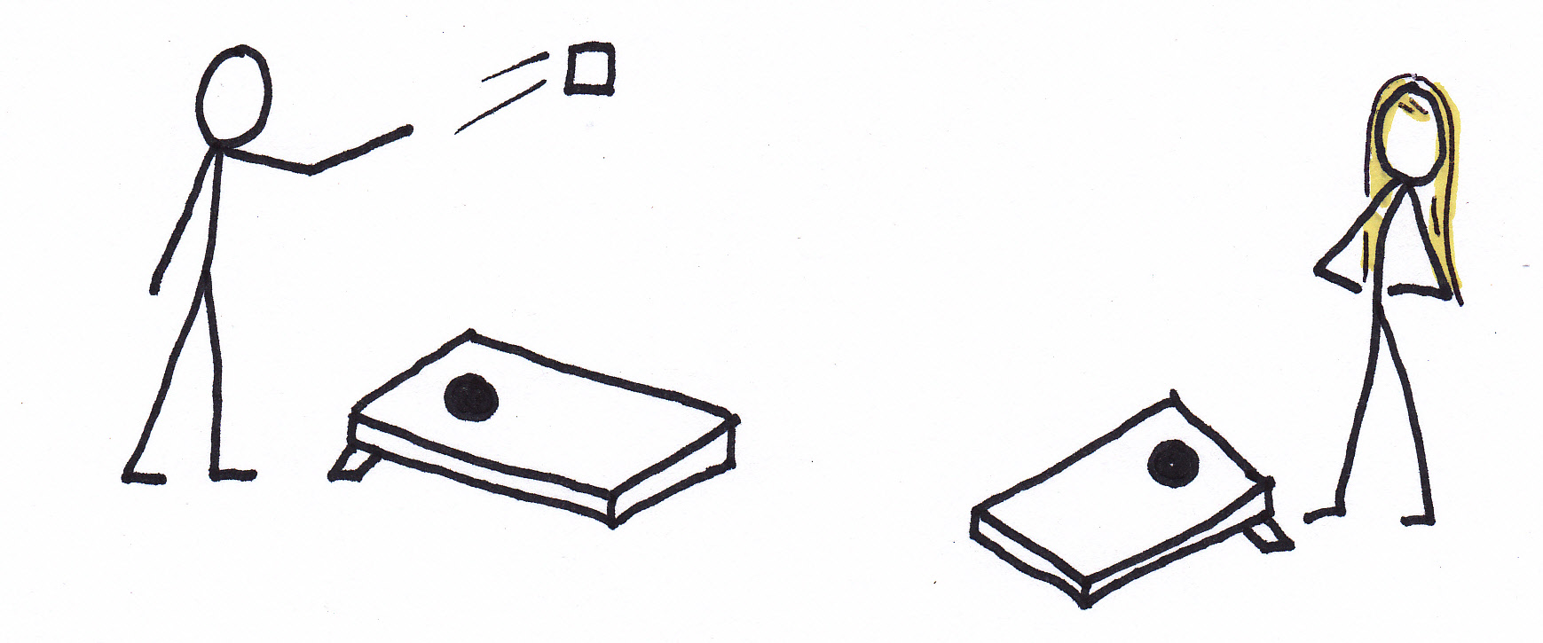 Cornhole Clip Art