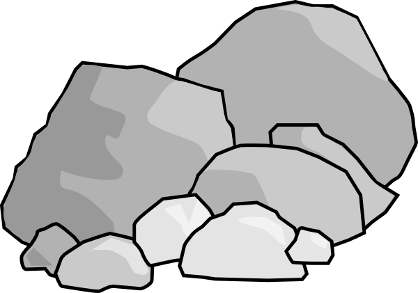 boulder clipart-boulder clipart-0
