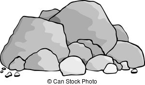 ... Boulders - A pile of boulders and rocks.
