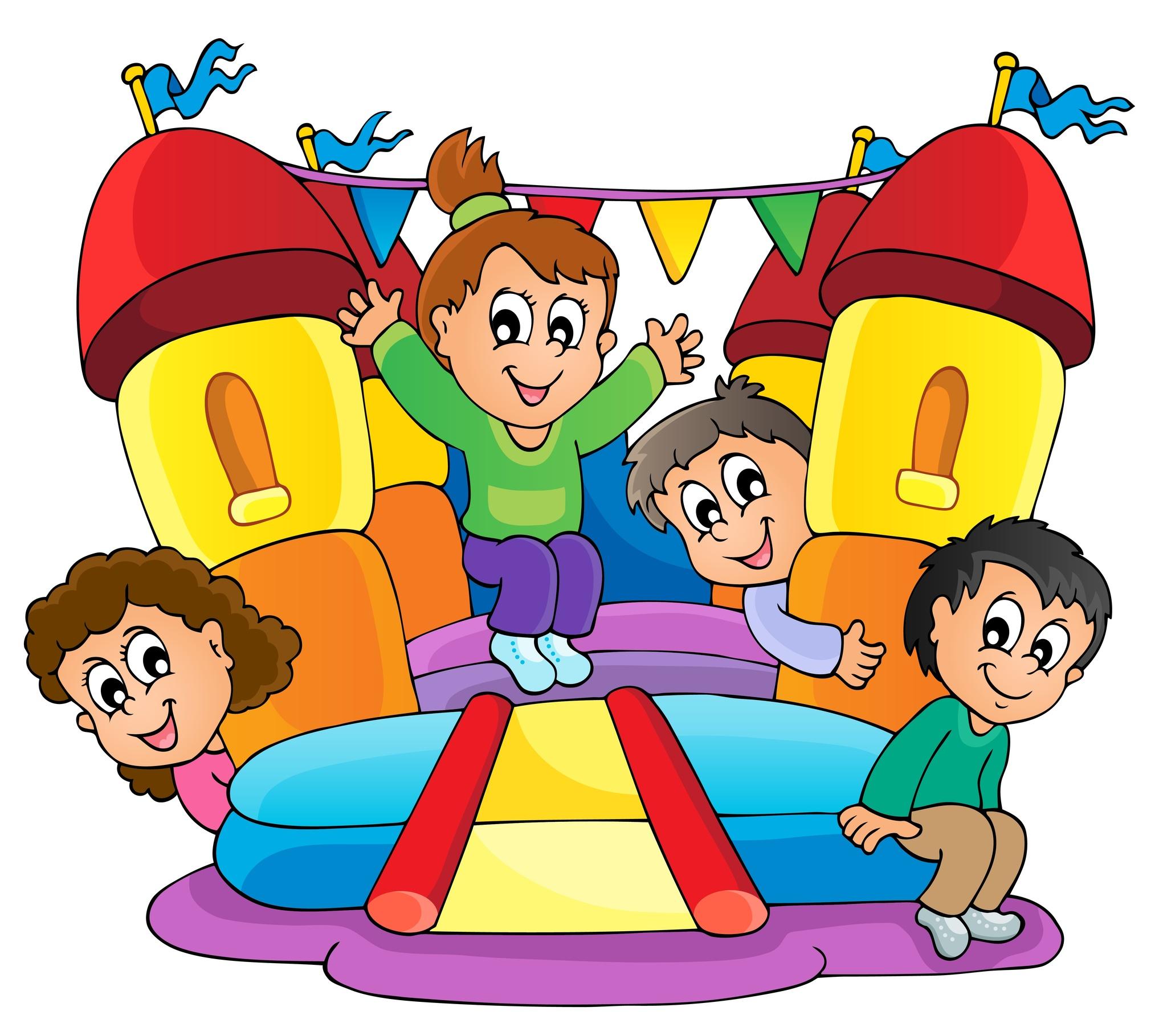 Bounce House Clip Art