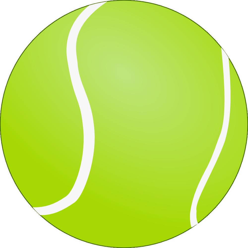 bouncing tennis ball clipart