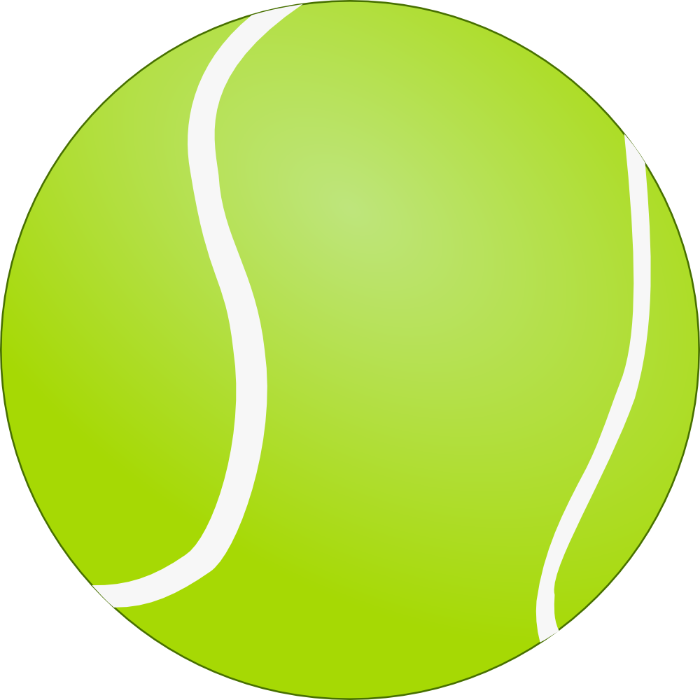 bouncing tennis ball clipart