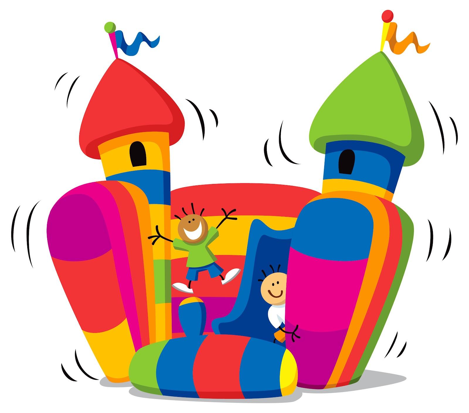 Bouncy Castle Clipart