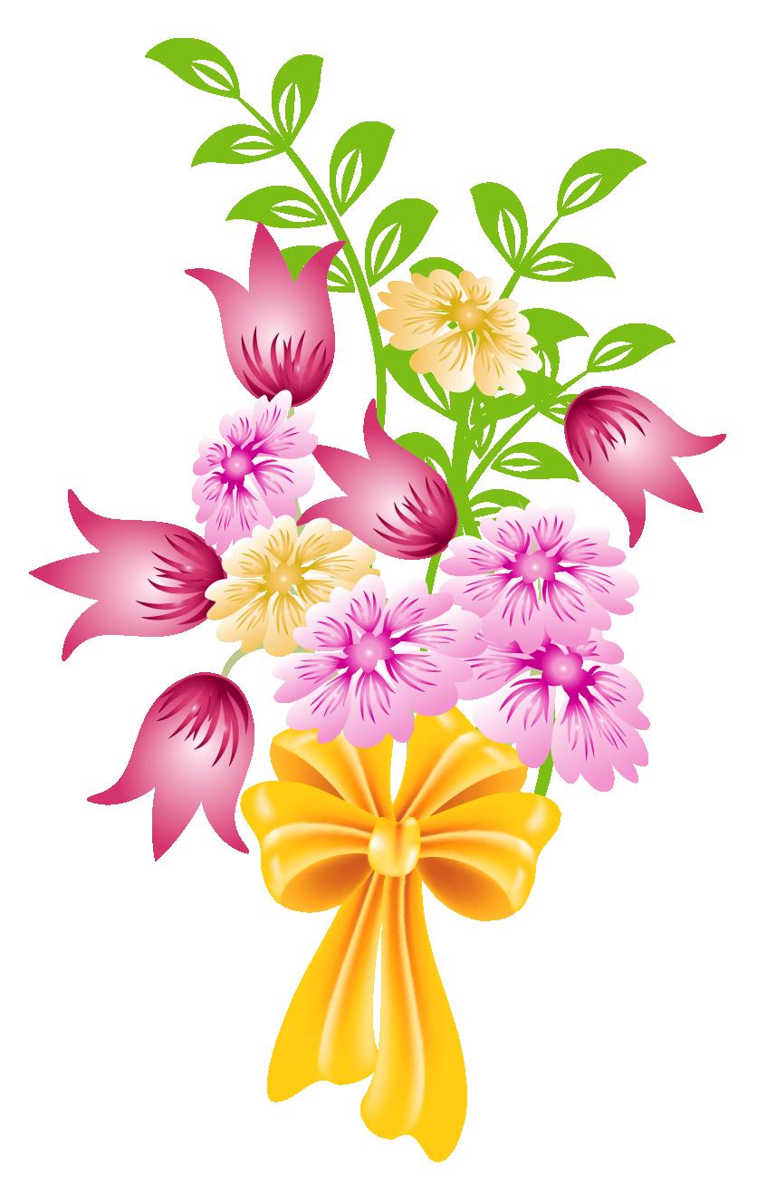 Bouquet Of Flowers Clipart No .-Bouquet of flowers clipart no .-0