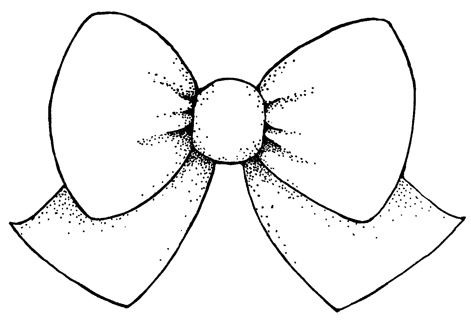 Bow Clipart Black And White-bow clipart black and white-0