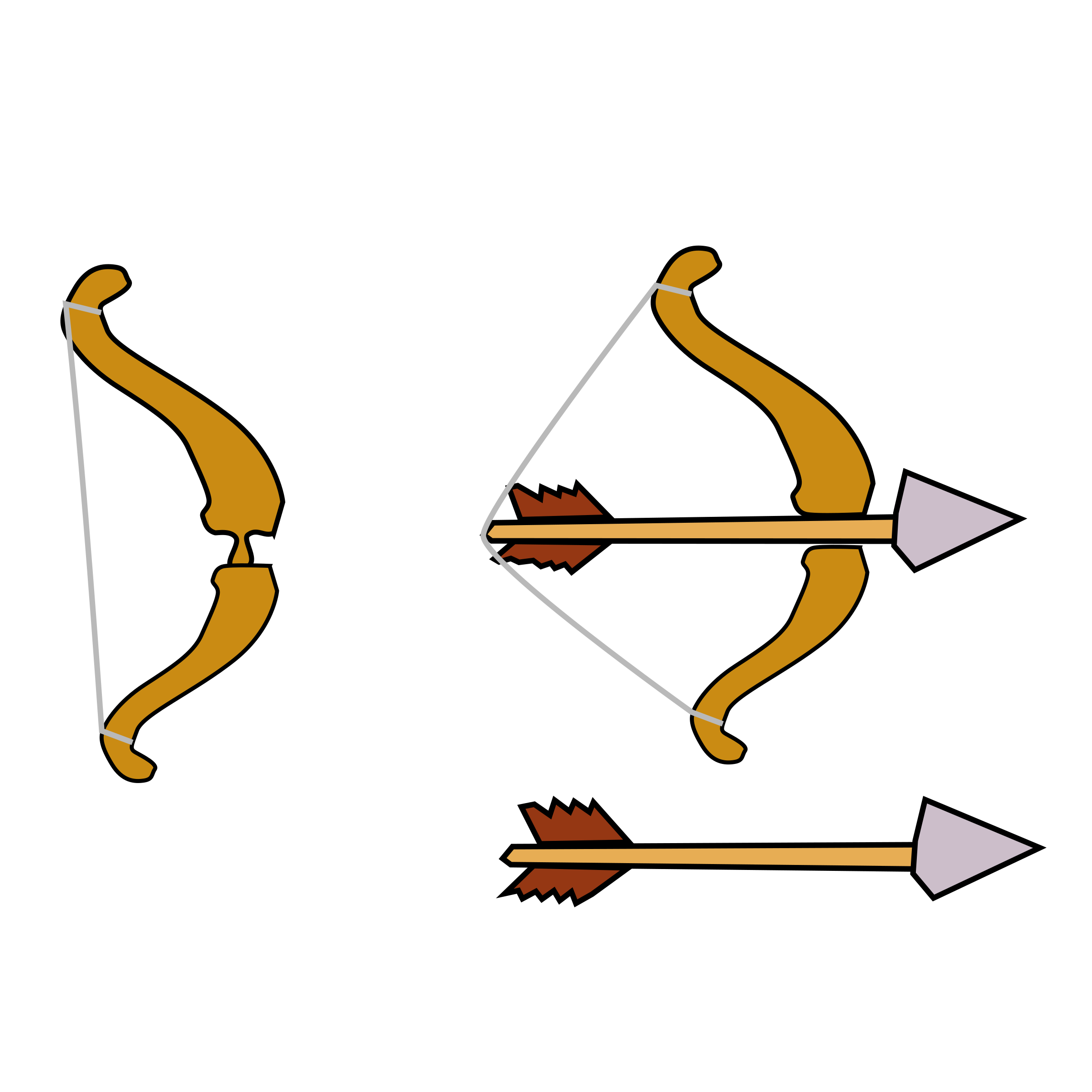 Bow and Arrow Clipart #29585-Bow and Arrow Clipart #29585-17