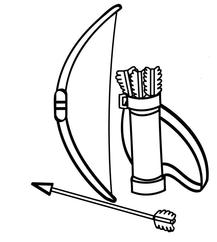 Bow And Arrow Clipart-Bow And Arrow Clipart-7