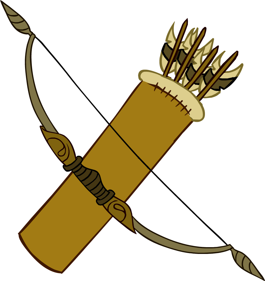 Bow and Arrows - Club Penguin Wiki - The free, editable. Bow And Arrow Png - Clipart library