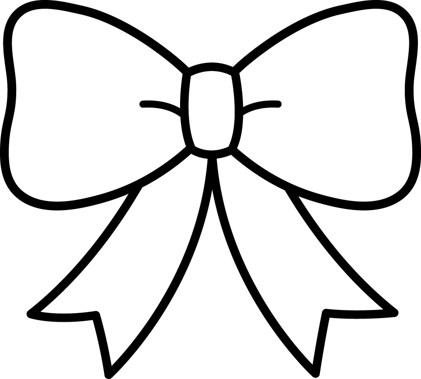Bow Clipart Black And White Free Clipart-Bow Clipart Black And White Free Clipart Images-5