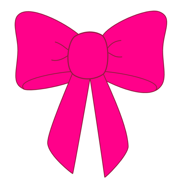 Bow Pink2 Free Graphics Png