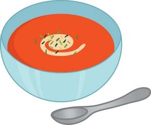 Bowl Full Of Tomato Soup With A Soup Spo-Bowl Full Of Tomato Soup With A Soup Spoon 0071 0907 0609 2840 Smu Jpg-8