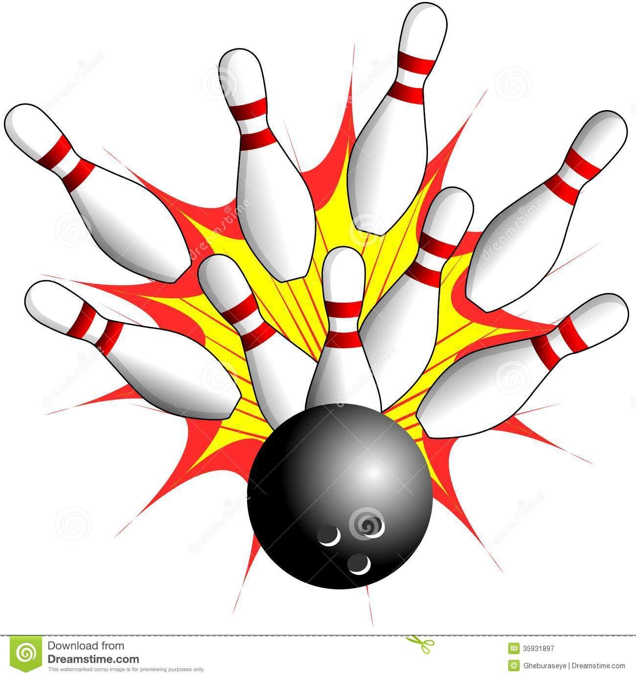 Bowling Alley Clip Art-bowling alley clip art-1