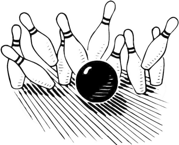 Bowling alley clipart 3 .