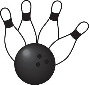 Bowling ball bowling clipart image clip art 4