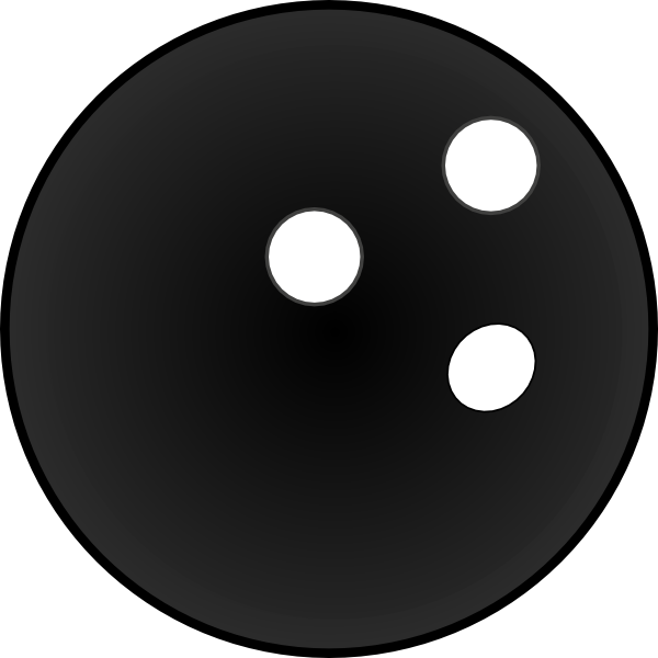 Bowling Ball Clip Art At Clke - Bowling Ball Clipart