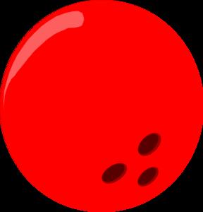 Bowling Ball - Red Clip Art .-Bowling Ball - Red clip art .-16