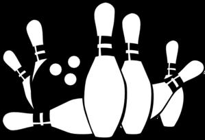 Bowling Ball Strike Clip Art .-Bowling ball strike clip art .-4