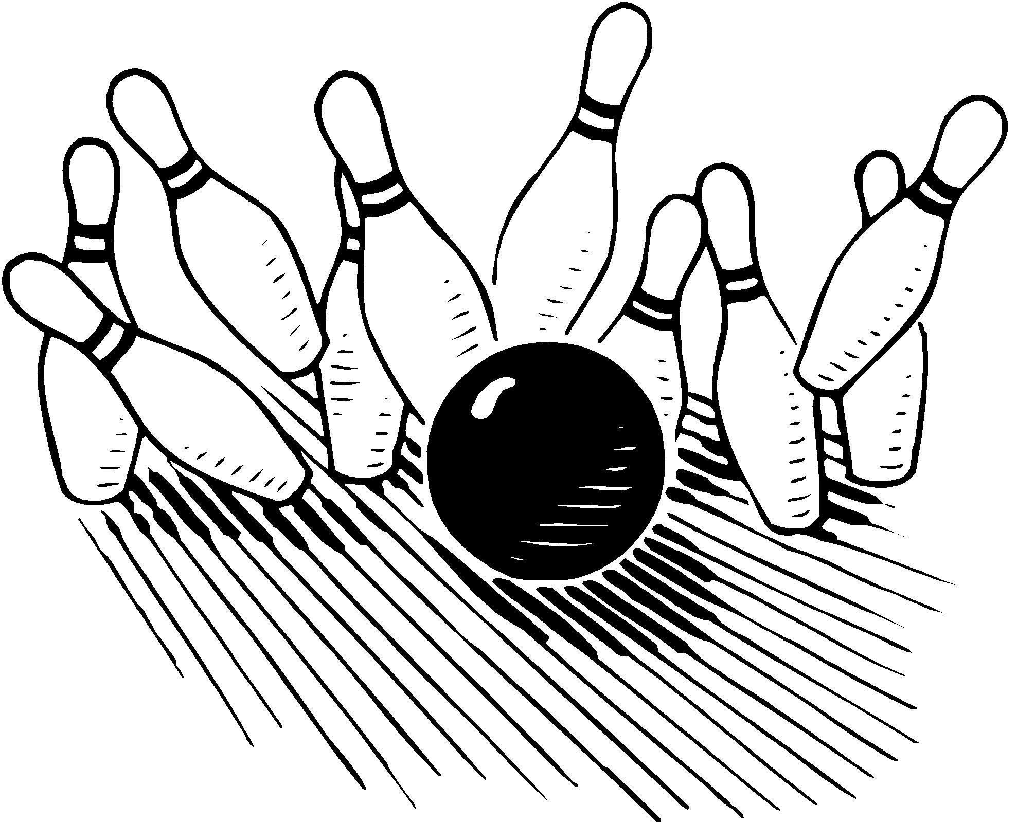 Bowling Clipart Clipart .-Bowling clipart clipart .-3