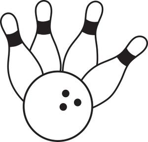 Bowling Pin Clip Art-bowling pin clip art-6