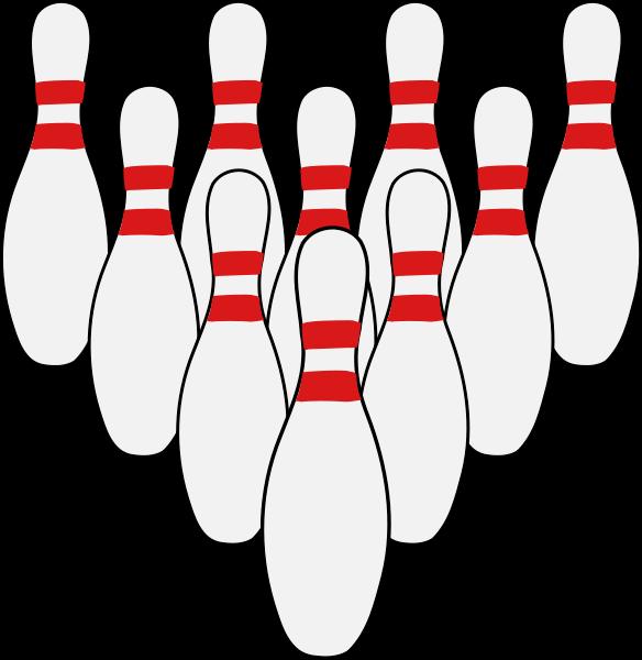Bowling Pin Clip Art-bowling pin clip art-7