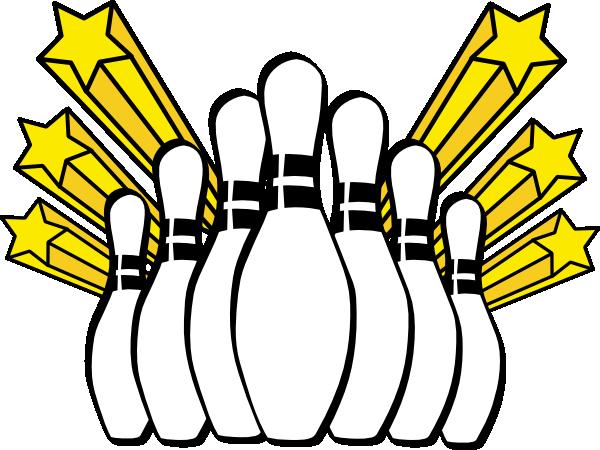 Bowling Pins Clip Art At Clker Com Vector Clip Art Online Royalty