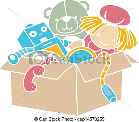 Toy Box Clipart