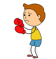 Boxer With Gloves Up. Size: 55 Kb-boxer with gloves up. Size: 55 Kb-5