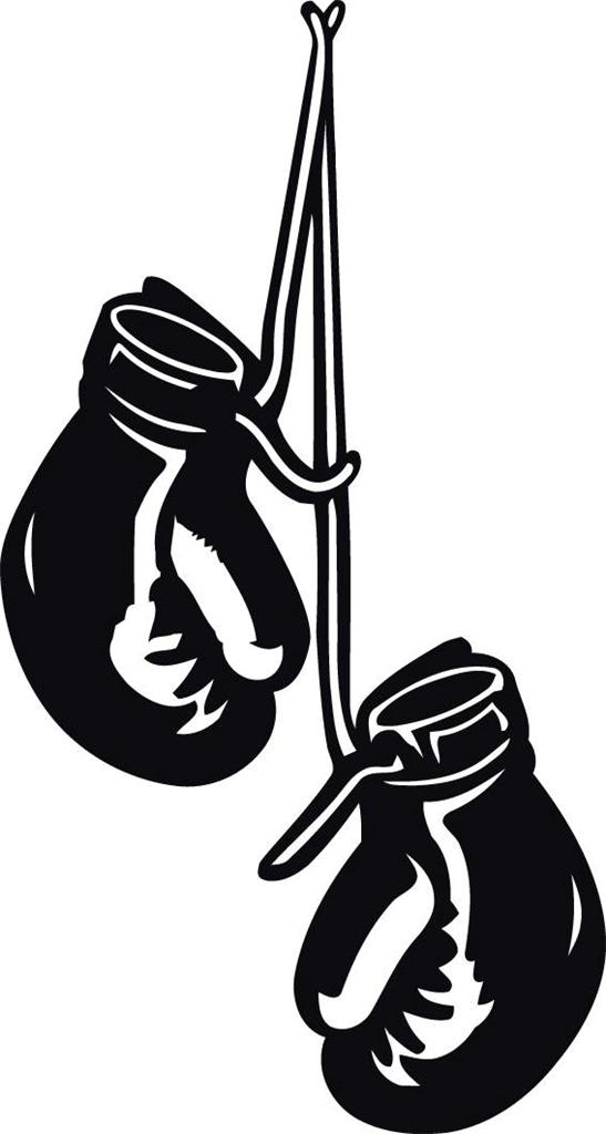 Boxing cliparts