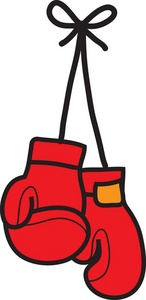 Boxing Gloves Clipart Image .