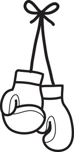 Boxing Gloves Clipart Image: .