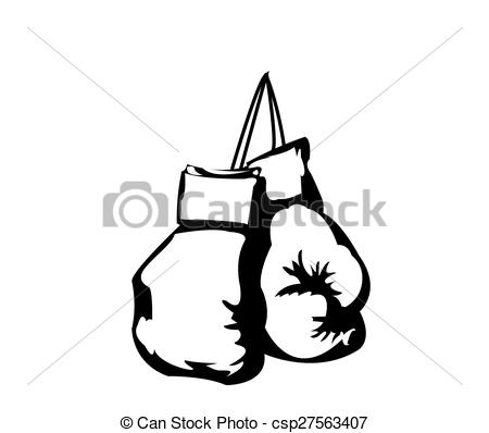 ... boxing gloves - hanging boxing gloves
