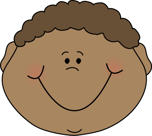 Excited Face Clip Art