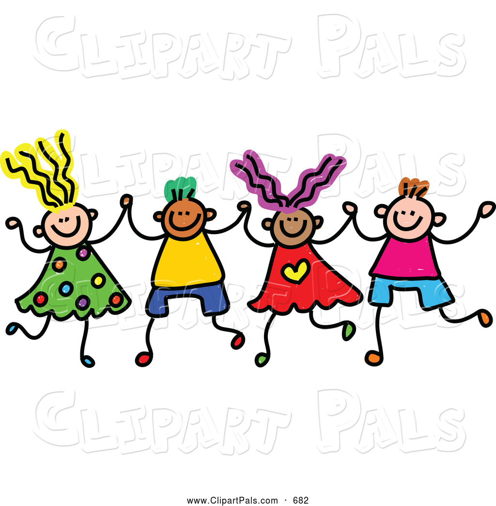 Boy And Girl Holding Hands Clip Art