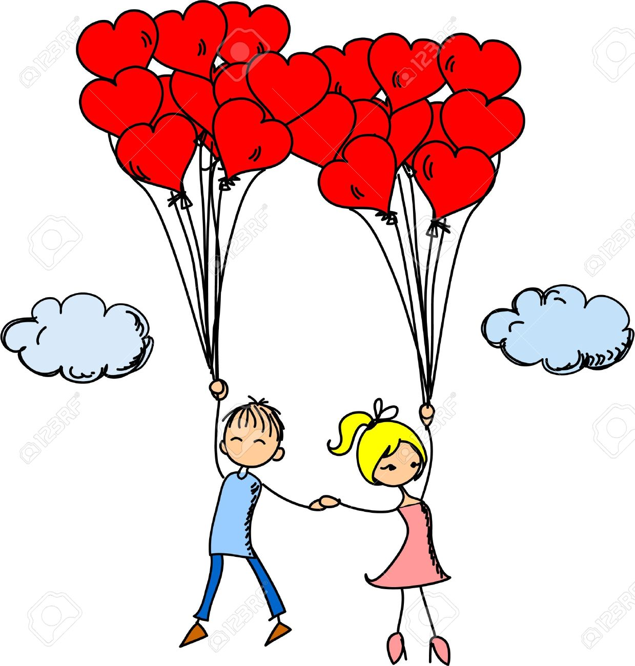 In Love Clipart