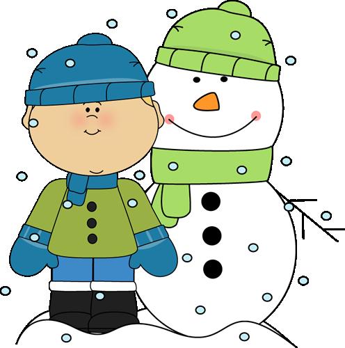 Boy And Snowman In The Snow Clip Art Boy-Boy And Snowman In The Snow Clip Art Boy And Snowman In The Snow-12