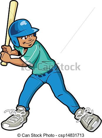 ... Boy Baseball Batter - Young Boy Baseball or Softball Batter