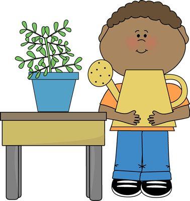 Boy Classroom Plant Helper clip art image. A free Boy Classroom Plant Helper clip art image for teachers, classroom projects, blogs, print, scrapbooking and ...
