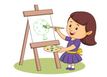 Boy Doing Painting Clipart. Size: 88 Kb-boy doing painting clipart. Size: 88 Kb-4