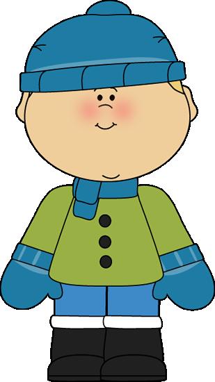 Boy Dressed For Winter Boy Dressed For W-Boy Dressed For Winter Boy Dressed For Winter In Snow Boots A Blue-2
