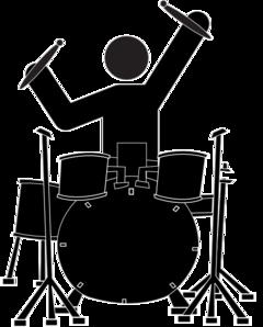 Boy Drummer Clip Art-Boy Drummer Clip Art-0