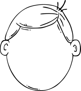 Boy Face Clip Art At Clker Com Vector Clip Art Online Royalty Free