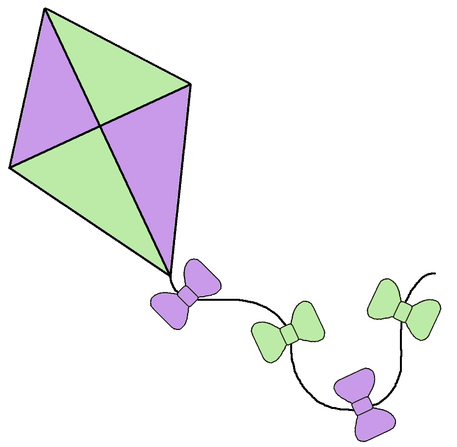 Boy Flying Kite Clipart Free .