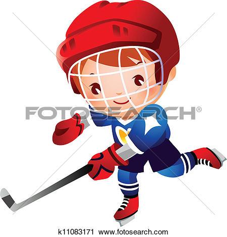 Boy Ice Hockey Player-Boy ice hockey player-14