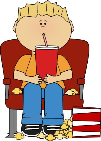 Boy In Movie Theater With Drink And Popc-Boy in Movie Theater with Drink and Popcorn clip art image. A free Boy in Movie Theater with Drink and Popcorn clip art image for teachers, ...-0