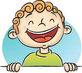 Boy Laughing Clipart Graphic