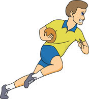Boy Playing Rugby Clipart Size: 78 Kb-Boy Playing Rugby Clipart Size: 78 Kb-0
