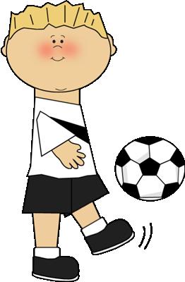 Boy Playing Soccer-Boy Playing Soccer-0