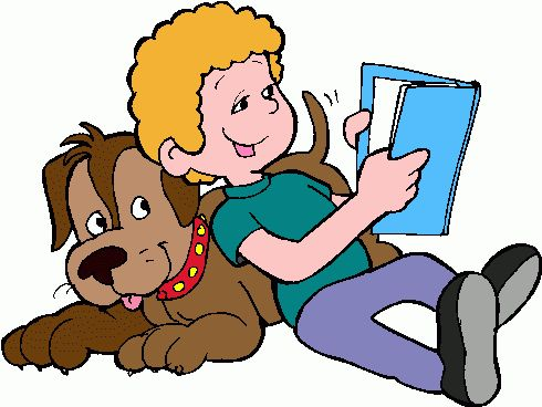 Boy Reading Clip Art Free | boy_reading_1 clipart - boy_reading_1 clip art
